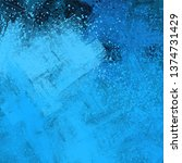 abstract texture. 2d... | Shutterstock . vector #1374731429