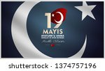 19 may  commemoration of atat...   Shutterstock .eps vector #1374757196