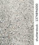 gray terrazzo texture   Shutterstock . vector #1374896000