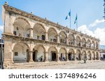 antigua guatemala   march 4... | Shutterstock . vector #1374896246