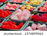 assorted candies with different ... | Shutterstock . vector #1374899063