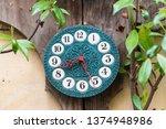 Decorative Clock On The Door O...