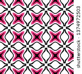 seamless pink colored pattern... | Shutterstock .eps vector #1374972503