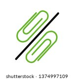 the percent sign is laid out... | Shutterstock .eps vector #1374997109