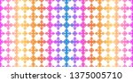 unique  abstract geometric... | Shutterstock .eps vector #1375005710