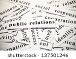 Public Relations. Words Related ...