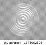 splash water or milk  wave from ... | Shutterstock .eps vector #1375062503