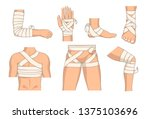 Bandaging Body Parts Bandage...