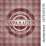 asparagus red seamless badge...   Shutterstock .eps vector #1375137170
