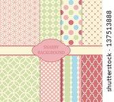 shabby background | Shutterstock .eps vector #137513888