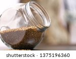 healthy food buckwheat in a... | Shutterstock . vector #1375196360