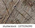 brown old wood texture.... | Shutterstock . vector #1375196390