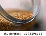 healthy food buckwheat in a... | Shutterstock . vector #1375196393