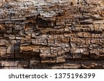 brown old wood texture.... | Shutterstock . vector #1375196399