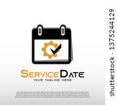 mechanic logo with services...   Shutterstock .eps vector #1375244129