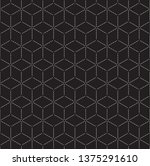 isometric 3d vector background... | Shutterstock .eps vector #1375291610