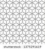 isometric 3d vector background... | Shutterstock .eps vector #1375291619
