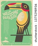 Welcome To Paradise Retro...