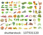 collection of food   Shutterstock . vector #137531120