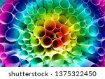 Color Rainbow Of Pvc Pipes...