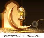 ramadan mubarak or kareem... | Shutterstock . vector #1375326260