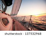 sailing regatta in greece | Shutterstock . vector #137532968