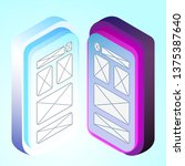 isometric 3d illustration...