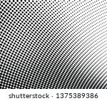 abstract halftone dotted... | Shutterstock .eps vector #1375389386
