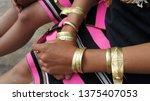 naga tribal traditional... | Shutterstock . vector #1375407053