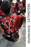 naga tribal traditional... | Shutterstock . vector #1375407056