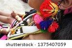 naga tribal traditional... | Shutterstock . vector #1375407059