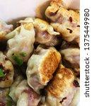 dumplings. delicious tasty...   Shutterstock . vector #1375449980