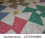 1930s reproduction fabrics... | Shutterstock . vector #1375456880