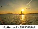 maiden's tower in istanbul ... | Shutterstock . vector #1375502840