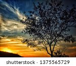 evening . evening is the best... | Shutterstock . vector #1375565729