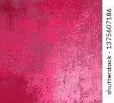 abstract texture. 2d... | Shutterstock . vector #1375607186