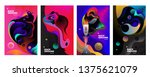 set of banner templates.... | Shutterstock .eps vector #1375621079