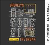 new york text frame cool...   Shutterstock .eps vector #1375650620