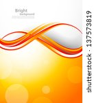 abstract orange background | Shutterstock .eps vector #137573819