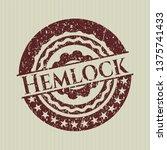 red hemlock distressed rubber...   Shutterstock .eps vector #1375741433