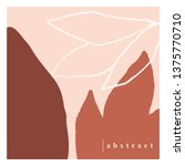 contemporary collage design... | Shutterstock .eps vector #1375770710
