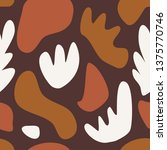 seamless repeating pattern with ... | Shutterstock .eps vector #1375770746