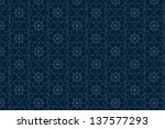 navy blue background with... | Shutterstock . vector #137577293