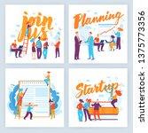 vector concept business... | Shutterstock .eps vector #1375773356