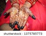 mehendi bridal mehendi bridal... | Shutterstock . vector #1375785773
