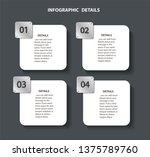 plate metal info graphic... | Shutterstock .eps vector #1375789760