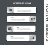 plate metal info graphic... | Shutterstock .eps vector #1375789763