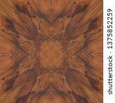 natural crotch mahogany wooden... | Shutterstock . vector #1375852259