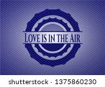 love is in the air emblem with...   Shutterstock .eps vector #1375860230