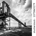 colliery coal screens. and... | Shutterstock . vector #1375865279